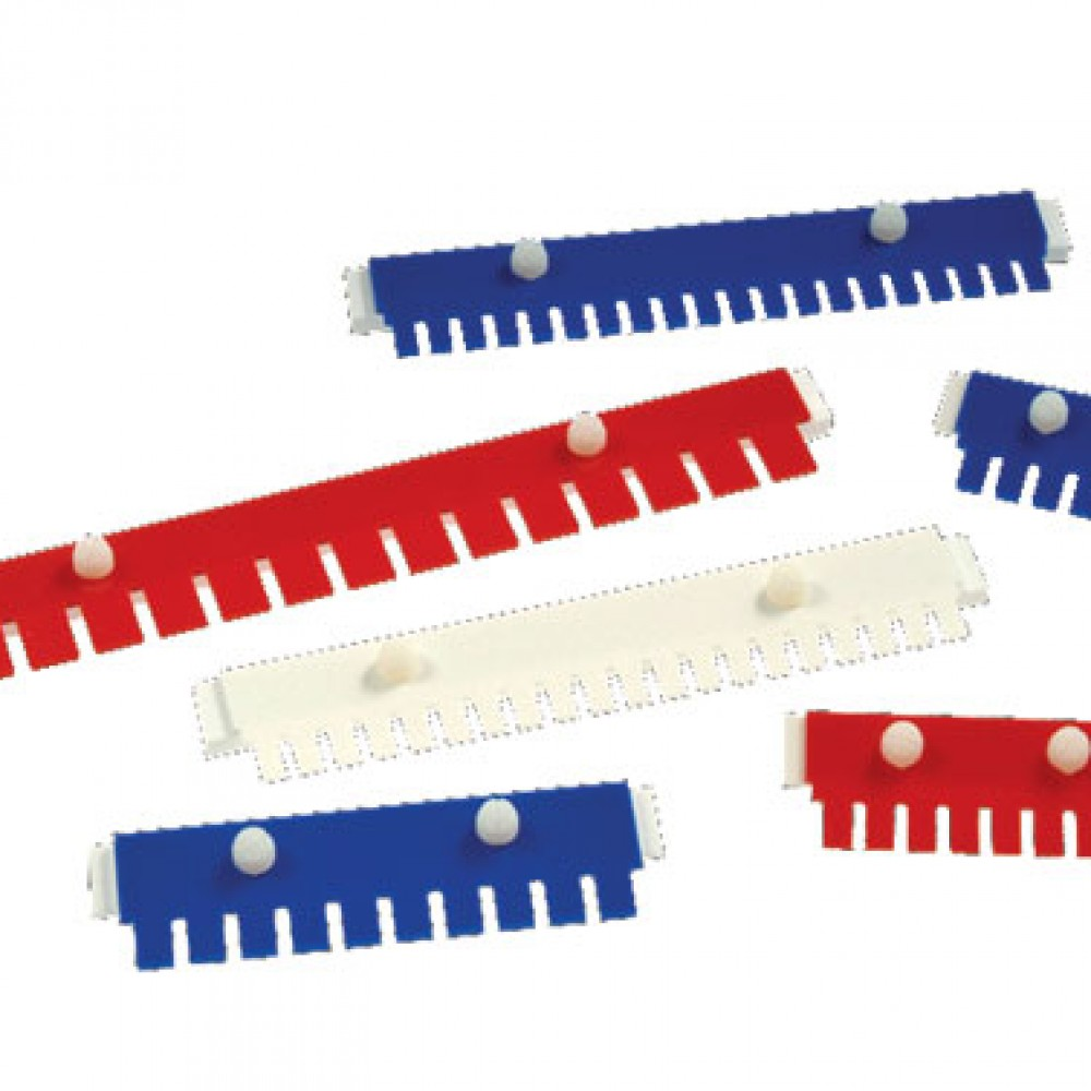 multiSUB-combs five thicknesses,-colour-coded, options for Sample Prep and Multi-Channel Pipette Compatiblity