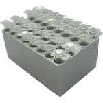 MD-MINI-B01	Block, for 0.2ml tubes (PCR Strip Tube), 32 wells, 6.35mm, depth 19mm