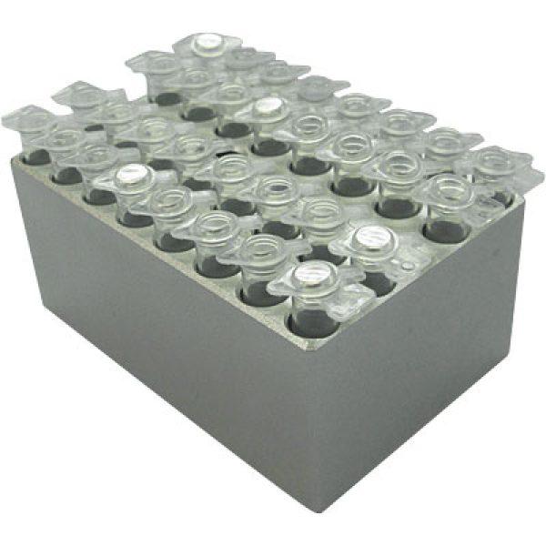 MD-MINI-B01Block, for 0.2ml tubes (PCR Strip Tube), 32 wells, 6.35mm, depth 19mm