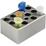 MD-MINI-B07	Block, for 1.5ml tubes, 12 wells, 10.9mm, depth 30mm