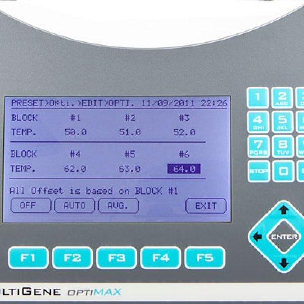 MultiGene™ OptiMax utilises an intuitive user interface
